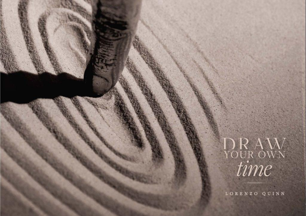Lorenzo Quinn Draw your own time