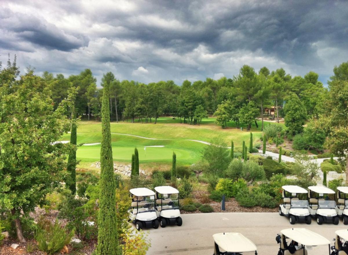 Terre Blanche Hotel golf course