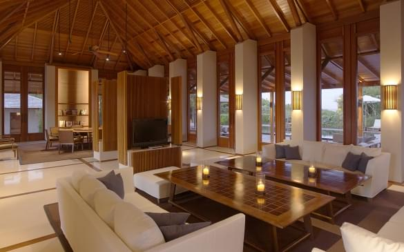 Amanyara Villas – Living & Dining Pavillion 3