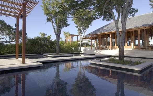 Amanyara Villas – Sala & Pond
