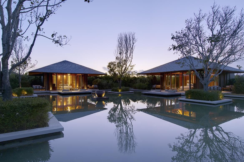 Amanyara Villas & Pond