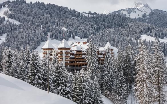 The Alpina Gstaad, Switzerland,  The Alpina Gstaad/ Urs Homberger