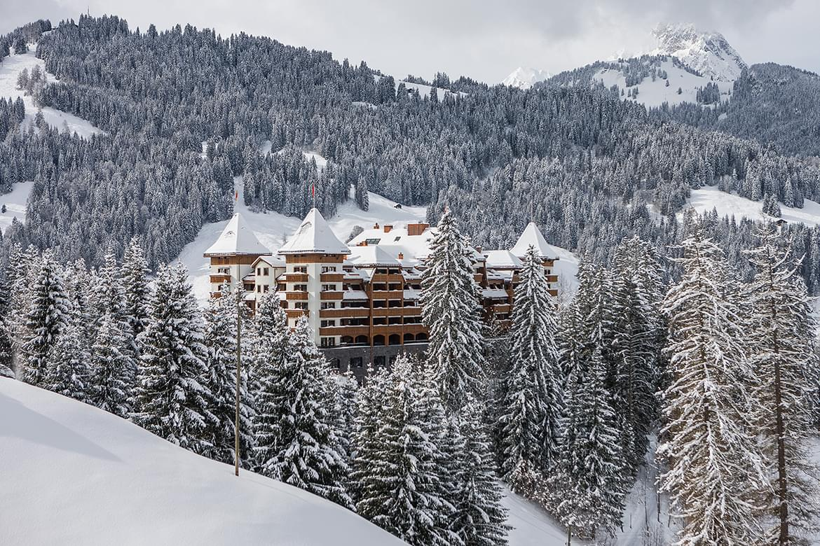 The Alpina Gstaad, Switzerland,  The Alpina Gstaad/ Urs Homberger