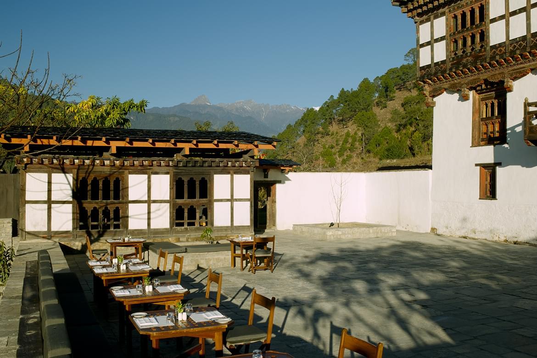 Amankora Punakha Courtyard
