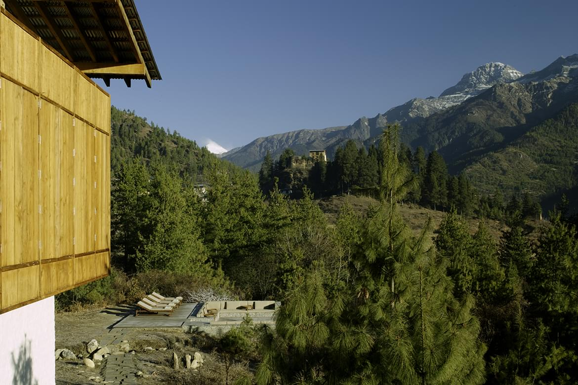 Amankora – Paro Outdoor Terrace
