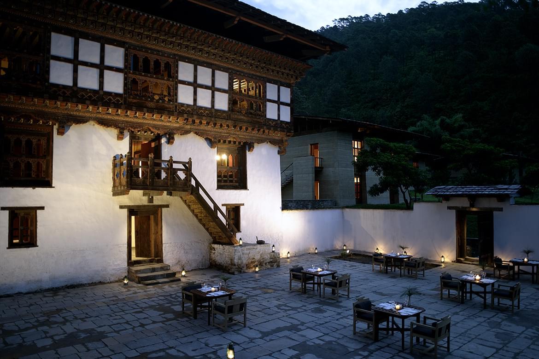 Amankora – Punakha Courtyard