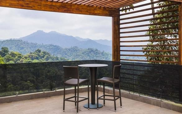 Mashpi Eco Lodge, luxury accommodation in an area of the Choco Rainforest known as Mashpi Cloud Forest, Ecuador, South America