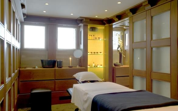 Le Mélézin Spa Treatment Room