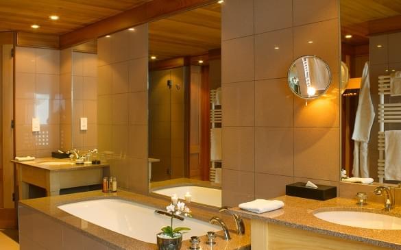 Le Mélézin Chambre Ski Piste Bathroom