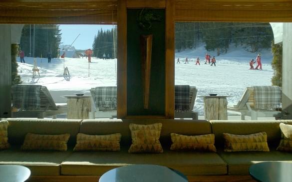 Le Mélézin Salon & Bellecote Ski Slope