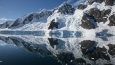 Reflections of Booth Island, Antarctica