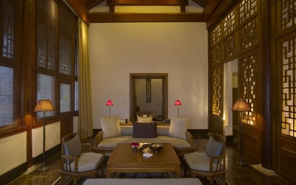 Aman at Summer Palace – Deluxe Suite Living Area