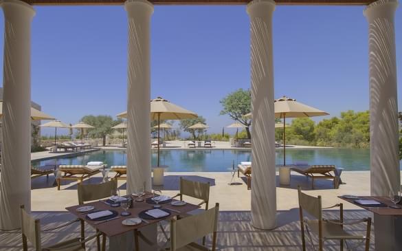 Amanzoe – Pool Restaurant