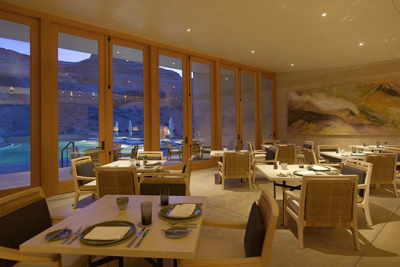 Amangiri – Dining Room