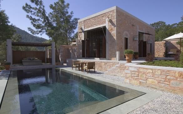 Amanruya – Pool Terrace Cottage (Sea View) Exterior & Pool