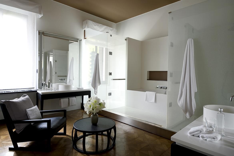 Aman Canal Grande Venice – Palazzo Stanza Bathroom