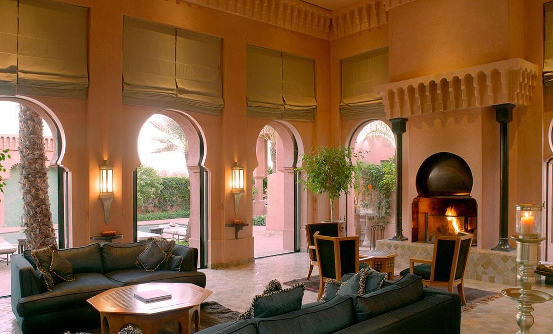 Amanjena – Al-Hamra Maison Living Area