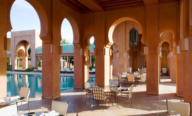 Amanjena – Pool Terrace