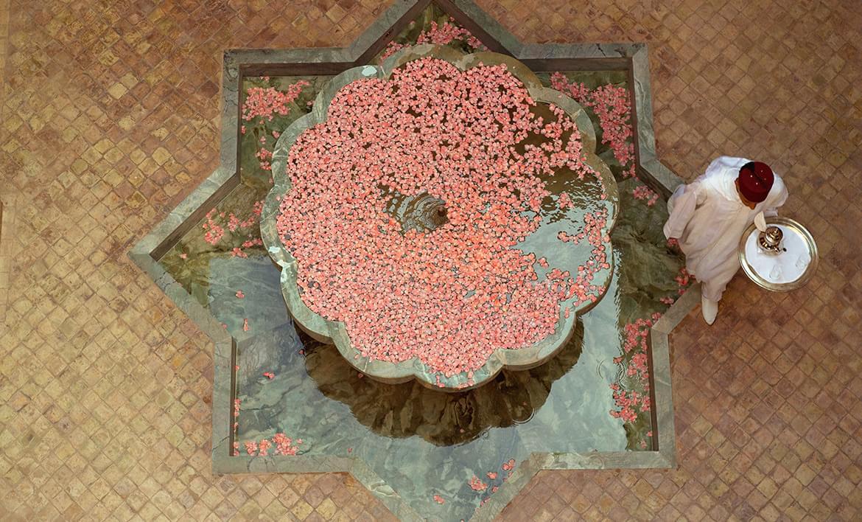 Amanjena – Courtyard Fountain