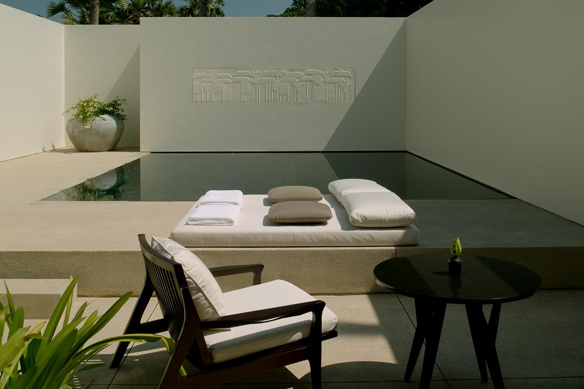 Amansara – Pool Suite Courtyard