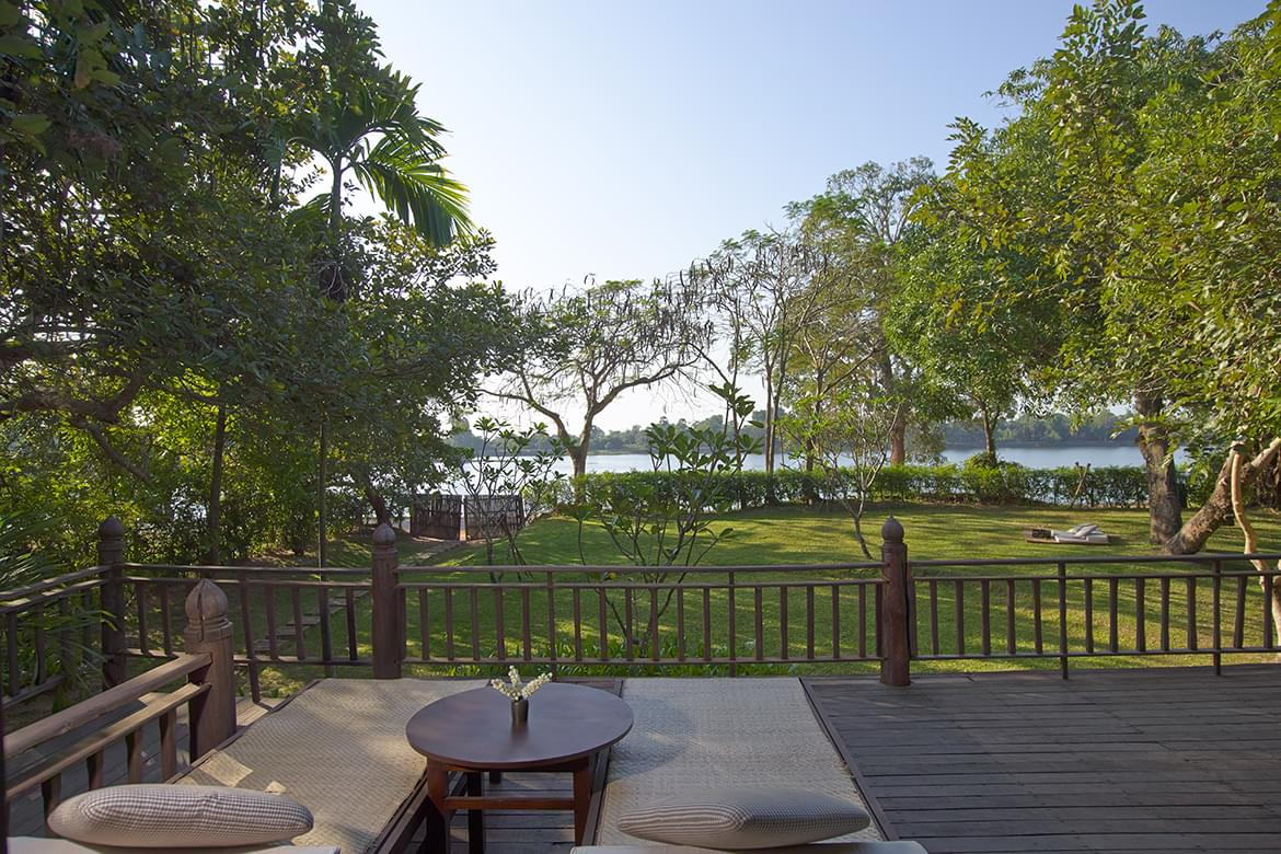 Amansara – Khmer Village House Balcony