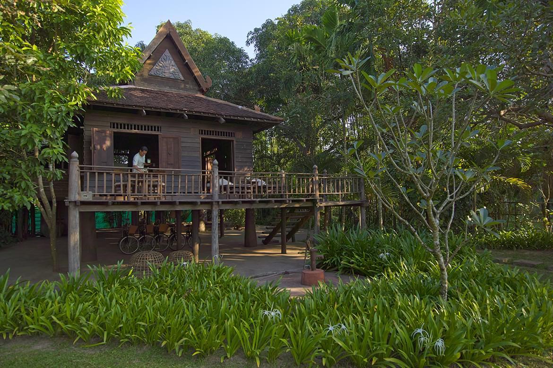 Amansara – Khmer Village House Exterior