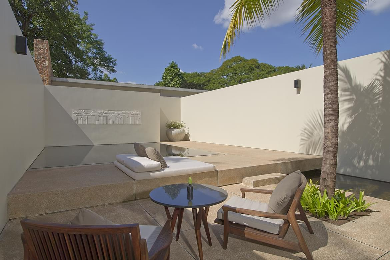 Amansara – Pool Suite Courtyard