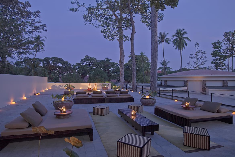 Amansara – Roof Terrace