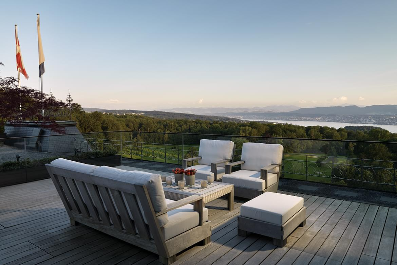 The Dolder Grand Maestro Suite Terrace