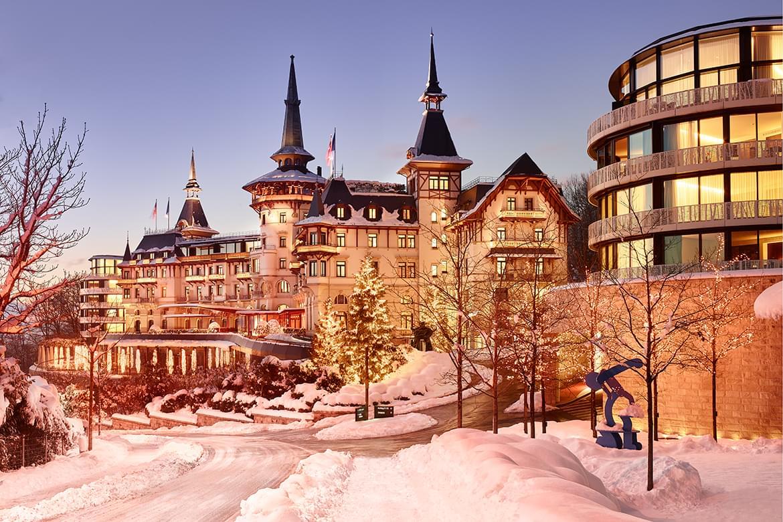 Dolder Grand, Zuerich, Switzerland 2015, Winter