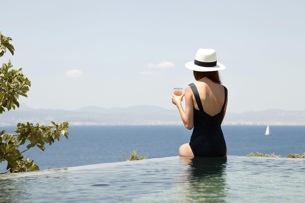 Cap Rocat swimming pool
