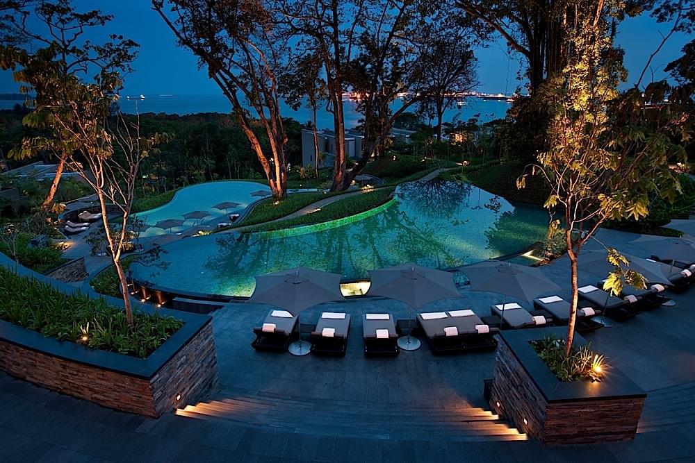 The Capella Hotel Singapore Pool