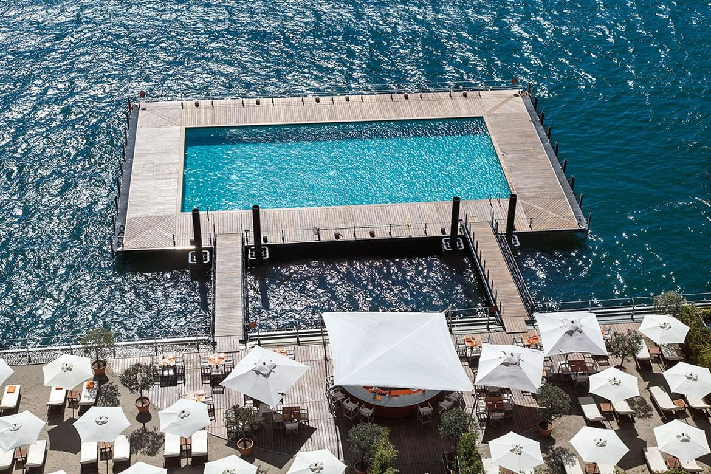Grand Hotel Tremezzo swimming pool