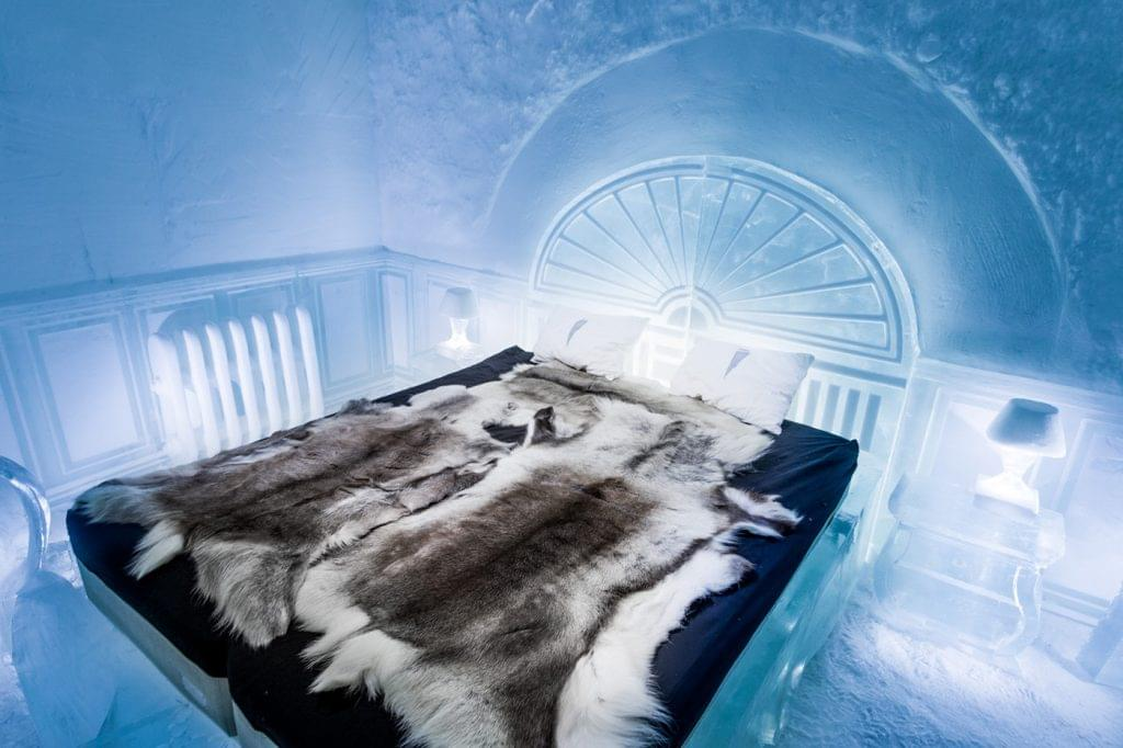 Ice Hotel Victorian Apartment