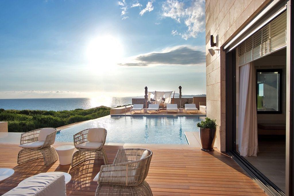 view from romanos resort