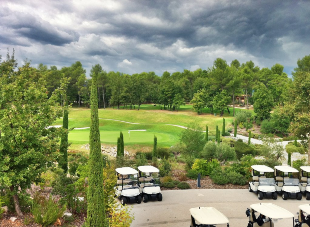Terre Blanche Hotel golf course