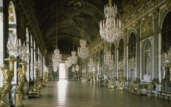 The Hall of Mirrors Interiors by Palace of Versailles