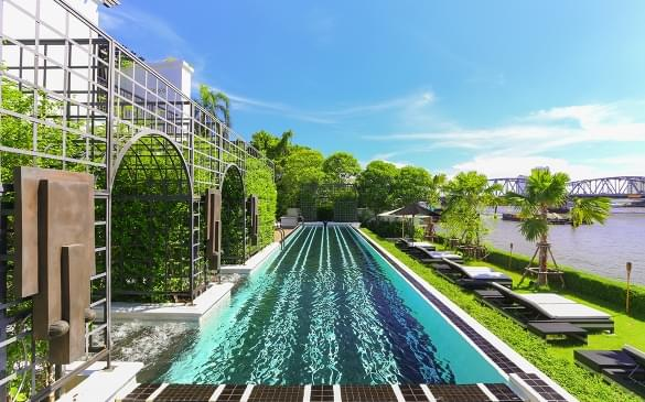 the siam hotel swimming pool